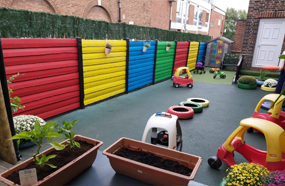 nursery outside